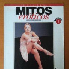 Coleccionismo de Revista Interviú: FASCICULO 1. MITOS EROTICOS DEL CINE. INTERVIU. SHARON STONE. KIM BASINGER.. Lote 54744197