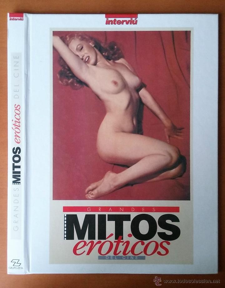 TAPAS GRANDES MITOS EROTICOS DEL CINE. INTERVIU. (Coleccionismo - Revistas y Periódicos Modernos (a partir de 1.940) - Revista Interviú)