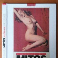 Coleccionismo de Revista Interviú: TAPAS GRANDES MITOS EROTICOS DEL CINE. INTERVIU.. Lote 54744355