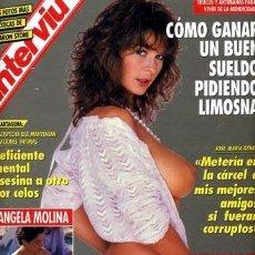 Coleccionismo de Revista Interviú: INTERVIU 888 (MAYO 1993) ANGELA MOLINA - SHARON STONE. Lote 54757720