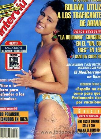Interviu 950 Julio 1994 Grecia Los Polansky Desnudos En Ibiza Paloma San Basilio Brigitte Bardot
