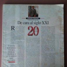 Coleccionismo de Revista Interviú: REVISTA 20 AÑOS DE INTERVIU. 1976-1996. 20 ANIVERSARIO. SIN PORTADA.. Lote 54837447