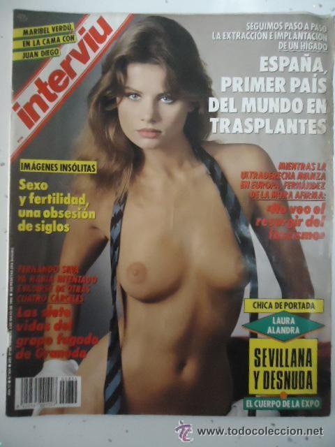 #LAURA ALANDRA# PORTADA Y REPOTAJE / REVISTA INTERVIU 834 / ABRIL 1992/33 (Coleccionismo - Revistas y Periódicos Modernos (a partir de 1.940) - Revista Interviú)