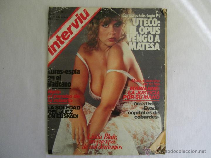 Revista Interviu 1982 Año 7 Nº 341 Linda Blai Sold Through