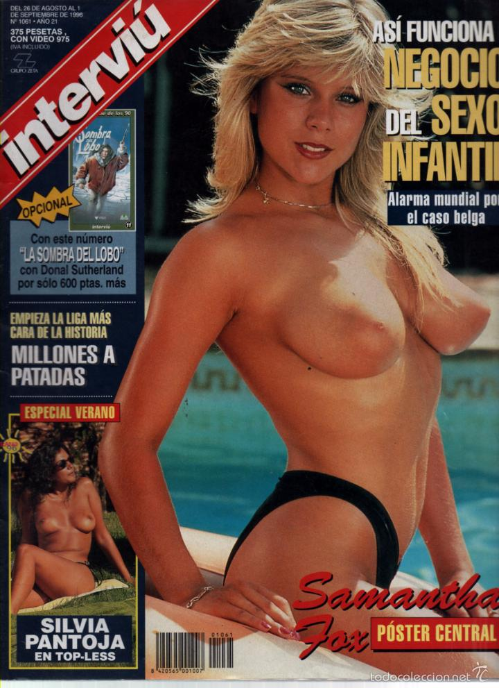 Interviu Nº 1061 Samantha Fox Silvia Pantoja Sold Through Direct