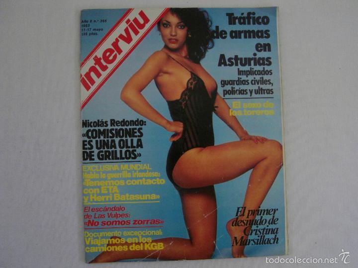 Revista Interviu 1983 Año 8 Nº 365 Cristina M Sold Through