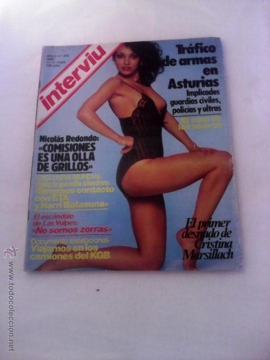 Interviu Nº 365 Año 1983 Estrellita Castro Cristina Marsillach Las Vulpes Division Azul