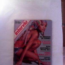 Coleccionismo de Revista Interviú: INTERVIU Nº 25 AÑO 1976 VICTORIA VERA-ELSA MARTINELLI-LISTE-CASANOVA Y LAS MALAS COMPAÑIAS PELICULA. Lote 55808219