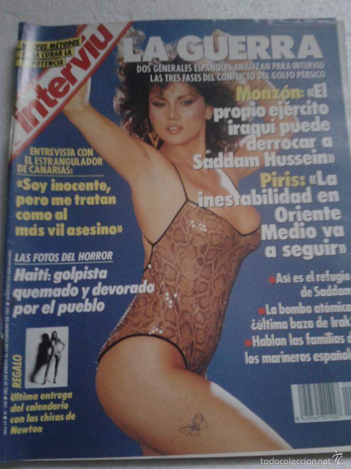 Serena Grandi Calendario.Interviu Nº768 Ano 1991 Serena Grandi Lola Herrera