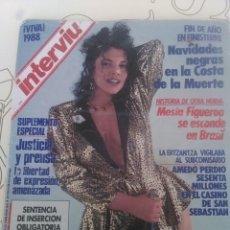 Coleccionismo de Revista Interviú: REVISTA INTERVIÚ MARIBEL VERDU N'607 AÑO 1988 FIN DE AÑO. Lote 56099079