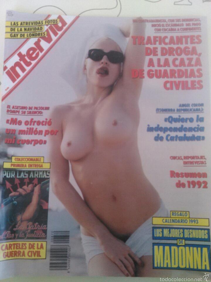 REVISTA INTERVIU EN PORTADA MADONNA N'870 AÑO 1993 (Coleccionismo - Revistas y Periódicos Modernos (a partir de 1.940) - Revista Interviú)