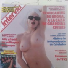 Coleccionismo de Revista Interviú: REVISTA INTERVIU EN PORTADA MADONNA N'870 AÑO 1993. Lote 56099132