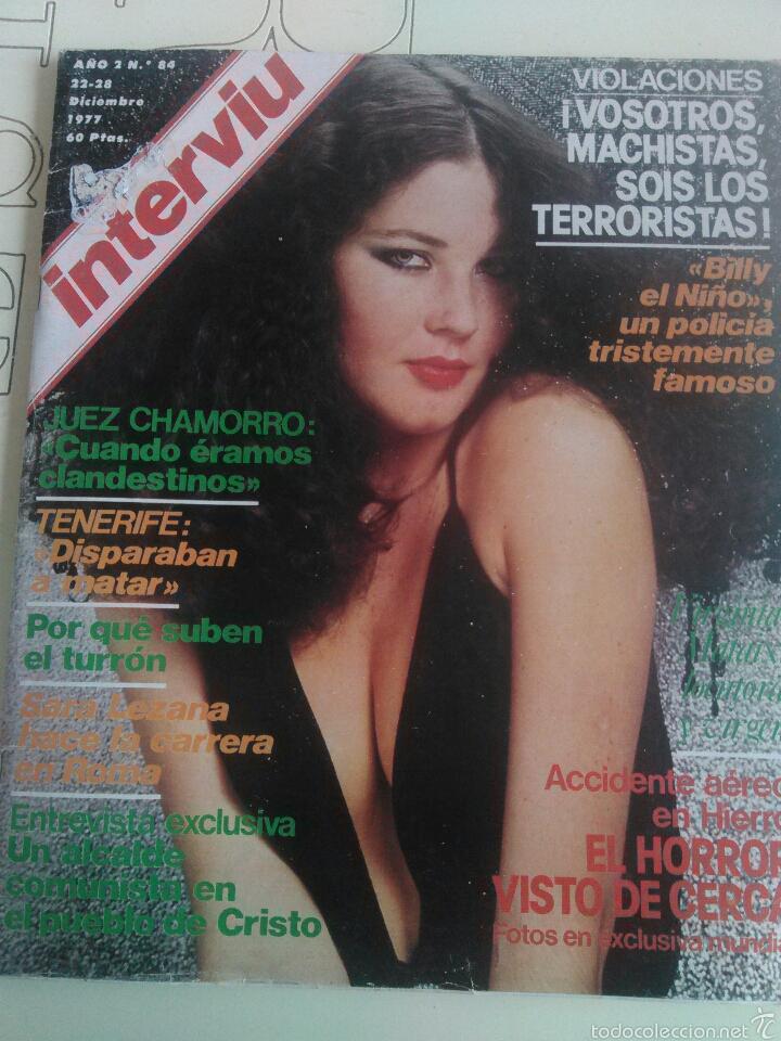 REVISTA INTERVIU N'84 AÑO 1977 PORTADA SARA LEZANA (Coleccionismo - Revistas y Periódicos Modernos (a partir de 1.940) - Revista Interviú)