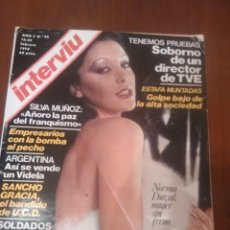 Coleccionismo de Revista Interviú: REVISTA INTERVIU N'92 AÑO 1978 PORTADA NORMA DUVAL. Lote 56720889