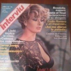 Coleccionismo de Revista Interviú: REVISTA INTERVIU N'95 AÑO 1978 PORTADA EDWIGE FENECH. Lote 56721385