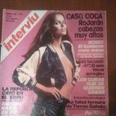 Coleccionismo de Revista Interviú: REVISTA INTERVIU N'116 AÑO 1978 PORTADA SILVIA AGUILAR. Lote 56748239