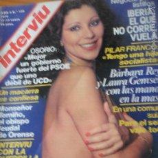 Coleccionismo de Revista Interviú: INTERVIU Nº 139 DE 1979- JENY LLADA, BARBARA REY, JAMES CAAN, VALERIO LAZAROV, PILAR FRANCO, VER+. Lote 57100551