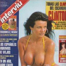 Coleccionismo de Revista Interviú: INTERVIU Nº 1136, MARISOL, SONIA MONROY, OLINA ESCOBAR. Lote 159828109
