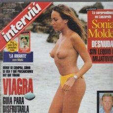Coleccionismo de Revista Interviú - INTERVIU Nº 1157 sonia moldes desnuda, alessia merz - 57379579