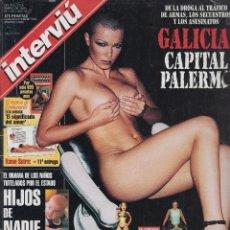 Coleccionismo de Revista Interviú: INTERVIU Nº 1184 NELL MCANDREW - ENTREVISTA A CONCHA VELASCO. Lote 176864680