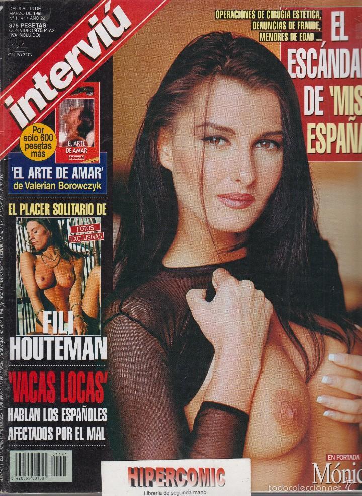 INTERVIU Nº 1141 / FILI HOUTEMAN , MONICA (Coleccionismo - Revistas y Periódicos Modernos (a partir de 1.940) - Revista Interviú)