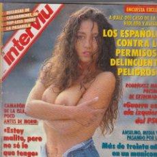 Coleccionismo de Revista Interviú: INTERVIU Nº 845 FANNY CADEO,. Lote 57396285