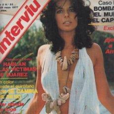 Coleccionismo de Revista Interviú - INTERVIU Nº 53 , AFRICA PRATT, MARIE EKORRE, - 57438299