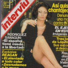 Coleccionismo de Revista Interviú: INTERVIU Nº 256 NADIUSKA, HENRY FONDA, JODIE FOSTER, XAVIER CUGAT - MANTIENE SUPLEMENTO. Lote 57438643