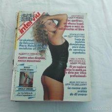 Coleccionismo de Revista Interviú: INTERVIU Nº 731: ANNA KANAKIS EN EL LECHO DE MIGUEL BOSE. JUDITH ATIENZA CAROLINE CASSEY. LOLITA DAV. Lote 294580918
