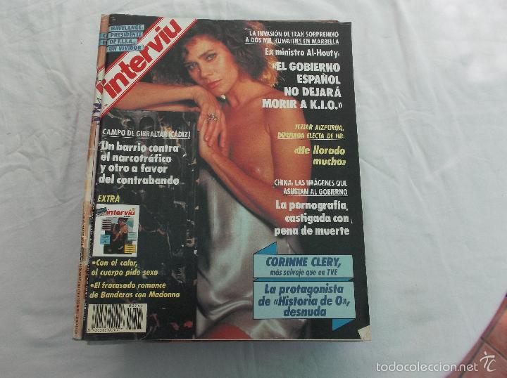 Interviu Nº 745 El Fracasado Romance De Banderas Con Madonna Corinne Clery Desnuda Itziar Aizpuru