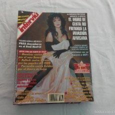Coleccionismo de Revista Interviú: INTERVIU Nº 1018,SARA MONTIEL A LOS 67 AÑOS,CLAUDIA STRESSEMAN, MICHAEL JACKSON Y LISA DE CINE,. Lote 195176368