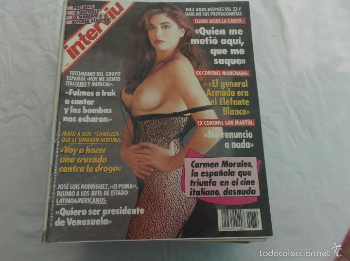 Interviu Nº 772 Carmen Morales Desnudapoli Diaz Los Sulfistas Del Tren En Rioalexanra Desnuda