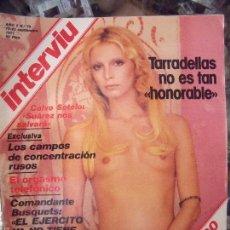 Coleccionismo de Revista Interviú: INTERVIU PATTY PRAVO 1977. Lote 58014448