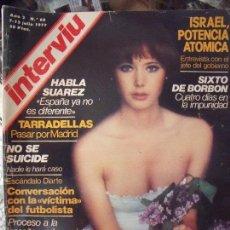 Coleccionismo de Revista Interviú: INTERVIU IVONNE SENTIS 1977. Lote 58014531