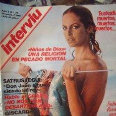 Coleccionismo de Revista Interviú: INTERVIU SYNEY ROMA 1977. Lote 58014679