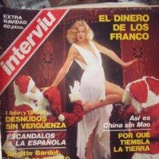 Coleccionismo de Revista Interviú: INTERVIU EXTRA DE NAVIDAD. Lote 58015375