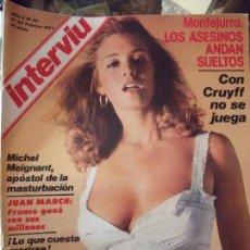 Coleccionismo de Revista Interviú: INTERVIU N40 1977. Lote 58015665
