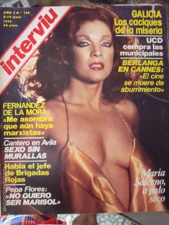 INTERVIU MARIA SALERMO (Coleccionismo - Revistas y Periódicos Modernos (a partir de 1.940) - Revista Interviú)