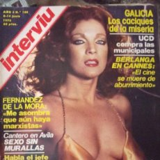 Coleccionismo de Revista Interviú: INTERVIU MARIA SALERMO. Lote 58038387