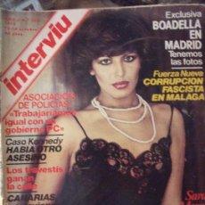 Coleccionismo de Revista Interviú: INTERVIU SARA MORA. Lote 58039572