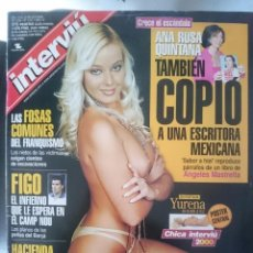 Coleccionismo de Revista Interviú: INTERVIU Nº 1277 - AÑO 24 - OCTUBRE 2000 - YURENA RODRIGUEZ CHICA INTERVIU 2000. Lote 58067260