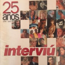 Coleccionismo de Revista Interviú: 25 AÑOS DE INTERVIÚ. Lote 58278940