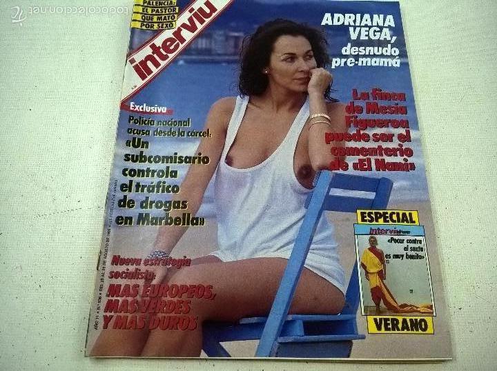 Revista Interviu Nº 536 Año 1986 Portada Adri Sold Through