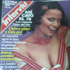 Colecionismo da Revista Interviú: REVISTA INTERVIU EXTRA NAVIDAD 1978 NADIUSKA MARIA SALERNO AMPARO MUÑOZ NORMA DUVAL SILVIA TORTOSA. Lote 58437791