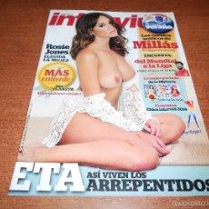 Coleccionismo de Revista Interviú: REVISTA INTERVIÚ: Nº 1993 DE 7/7/2014 ROSIE JONES, PIQUÉ,. Lote 196557172