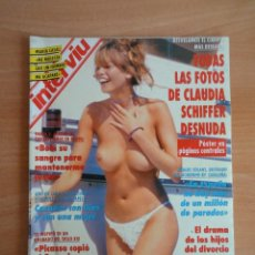 Coleccionismo de Revista Interviú: INTERVIU NUM. 904. EN PORTADA CLAUDIA SCHIEFFER. AGOSTO 1993.. Lote 58580057