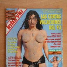 Coleccionismo de Revista Interviú: INTERVIU NUM. 901. AGOSTO 1993. PORTADA RACHEL BIANCA. . Lote 58584280