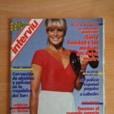 Coleccionismo de Revista Interviú: INTERVIU NUM. 575. MAYO DE 1987. EN PORTADA LINDA EVANS. REPORTAJE INTERIOR. . Lote 58584337
