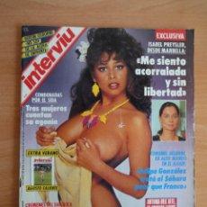 Coleccionismo de Revista Interviú: INTERVIU NUM. 797. AGOSTO 1991. PORTADA MARIA WHITTAKER. CON EXTRA VERANO. . Lote 58584498