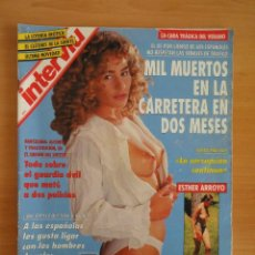 Coleccionismo de Revista Interviú: INTERVIU NUM. 902. AGOSTO 1993. ESPECIAL VERANO. PORTADA DRAGUICA. Lote 58622786